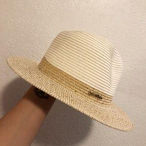 STUNNING Calvin Klein straw hat
